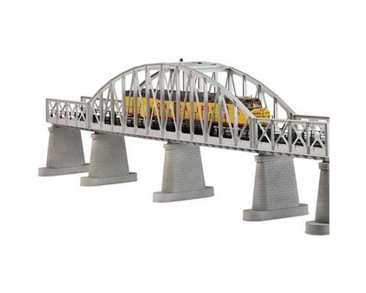 MTH Trains O Steel Arch Bridge, Silver