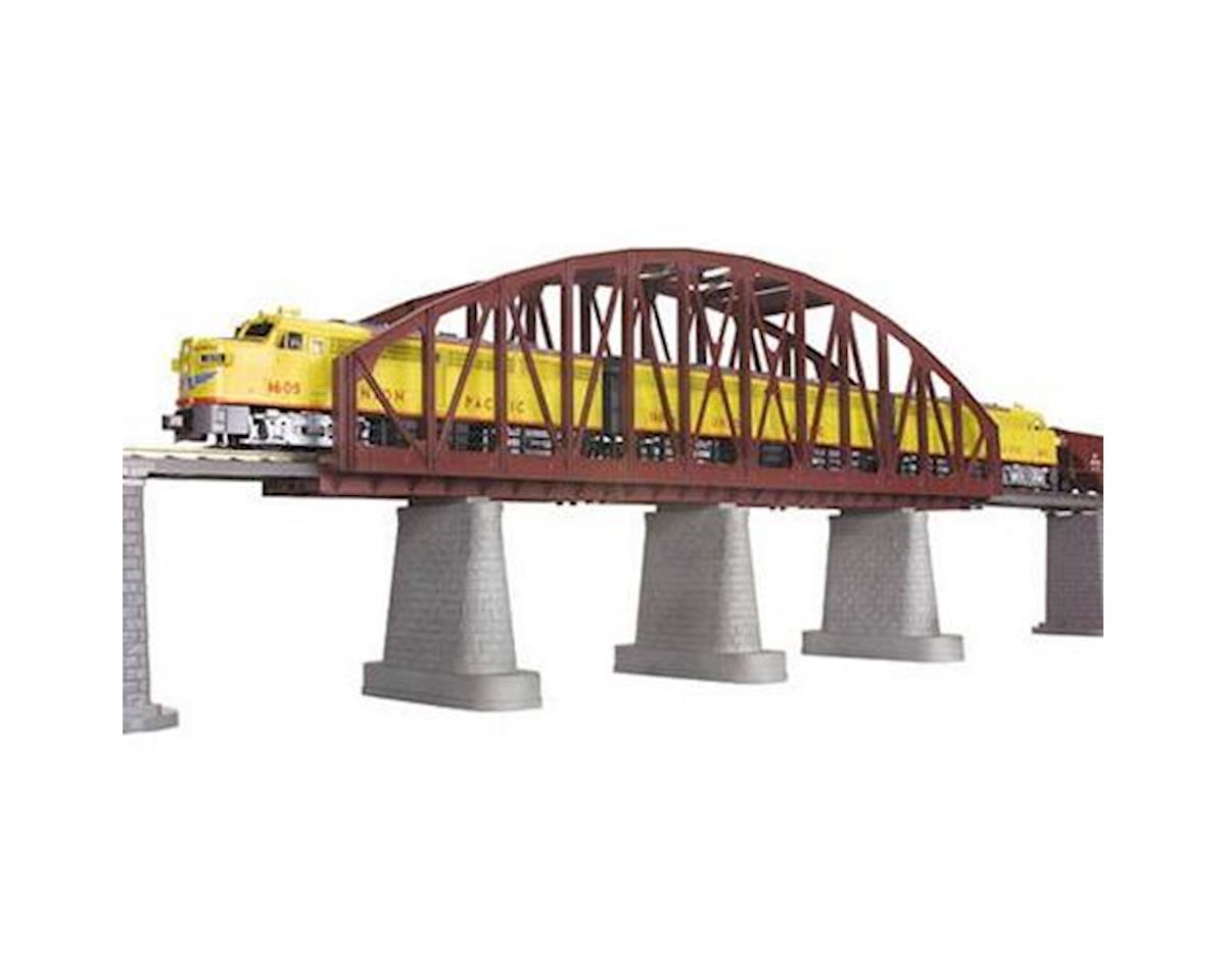 MTH Trains O Steel Arch Bridge, Rust