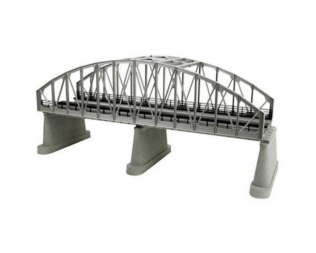 MTH Trains O 2-Track Steel Arch Bridge, Silver