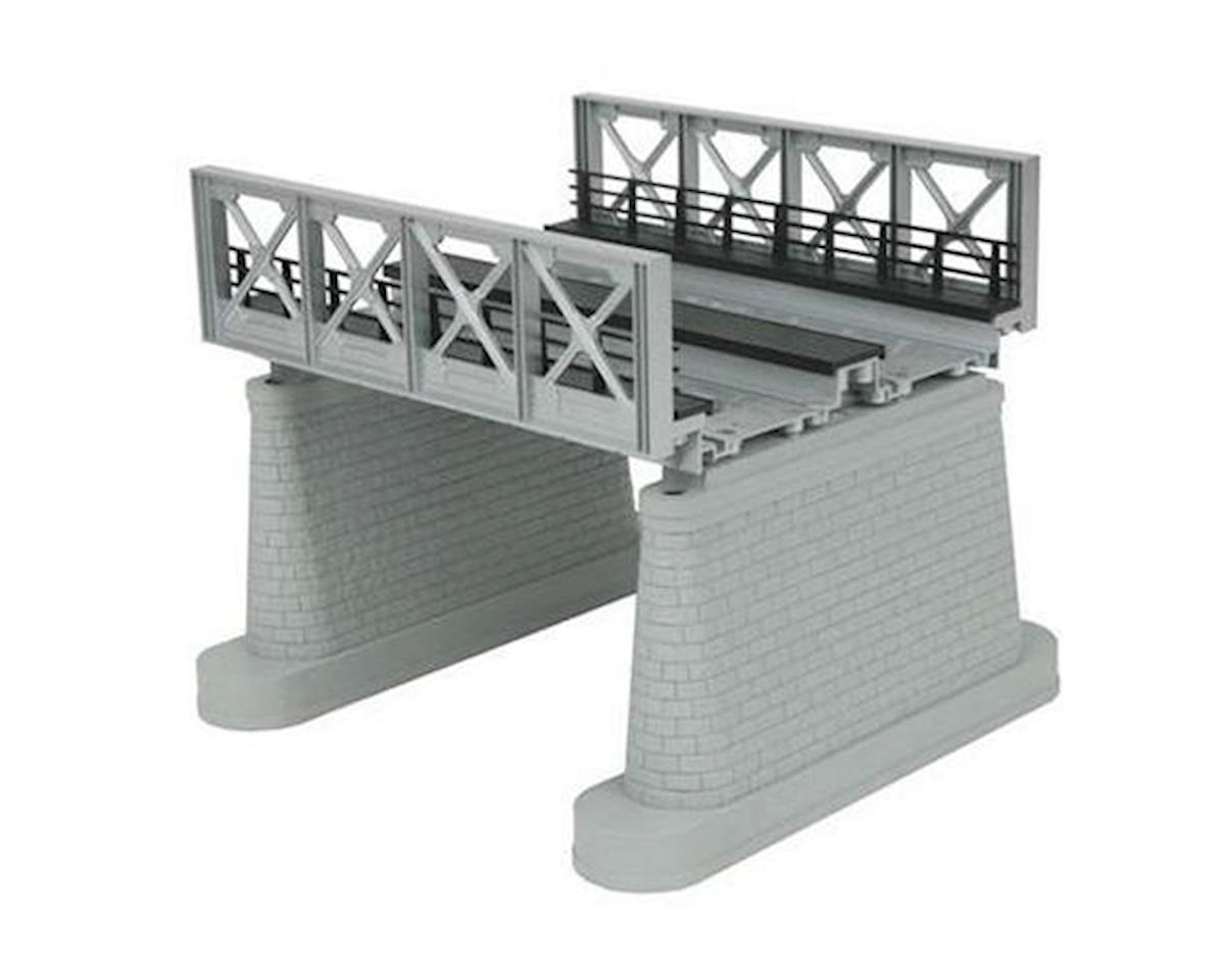 MTH Trains O 2-Track Girder Bridge, Silver