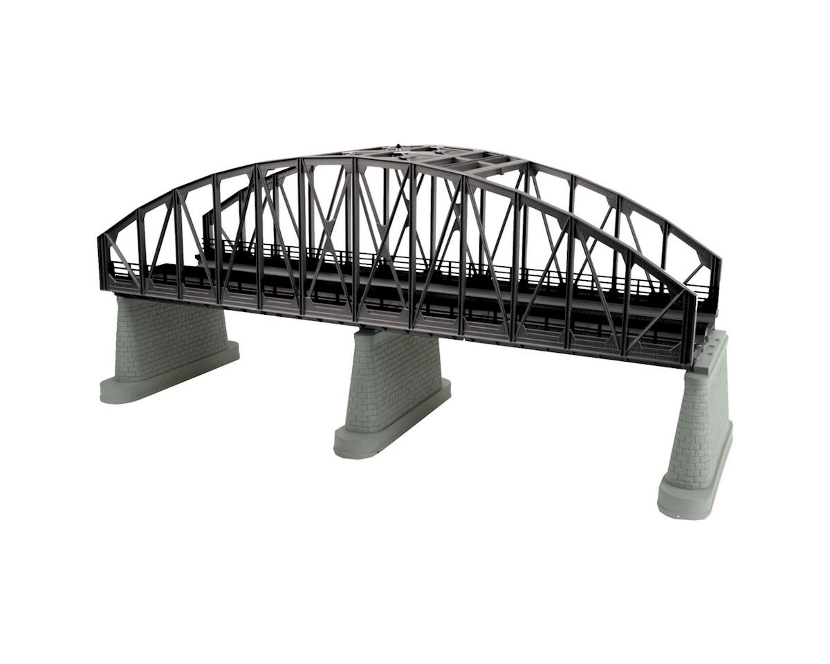 MTH Trains O 2-Track Steel Arch Bridge, Black