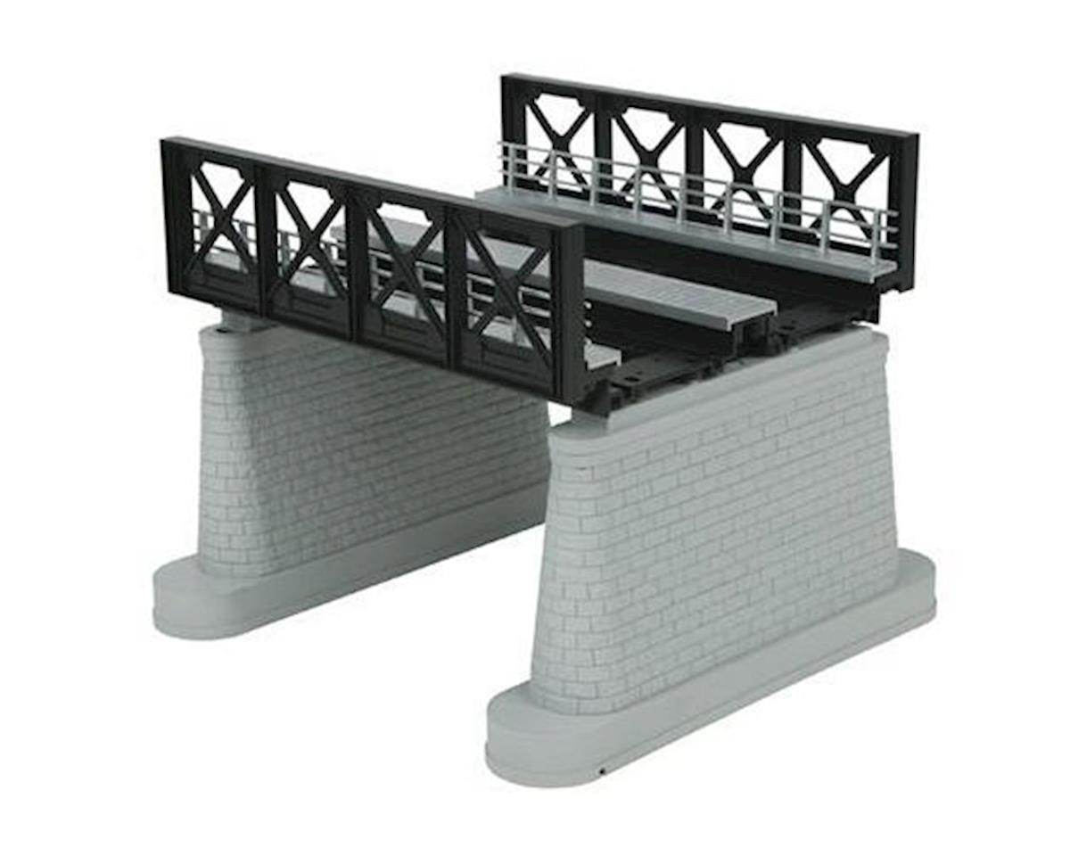 MTH Trains O 2-Track Girder Bridge, Black