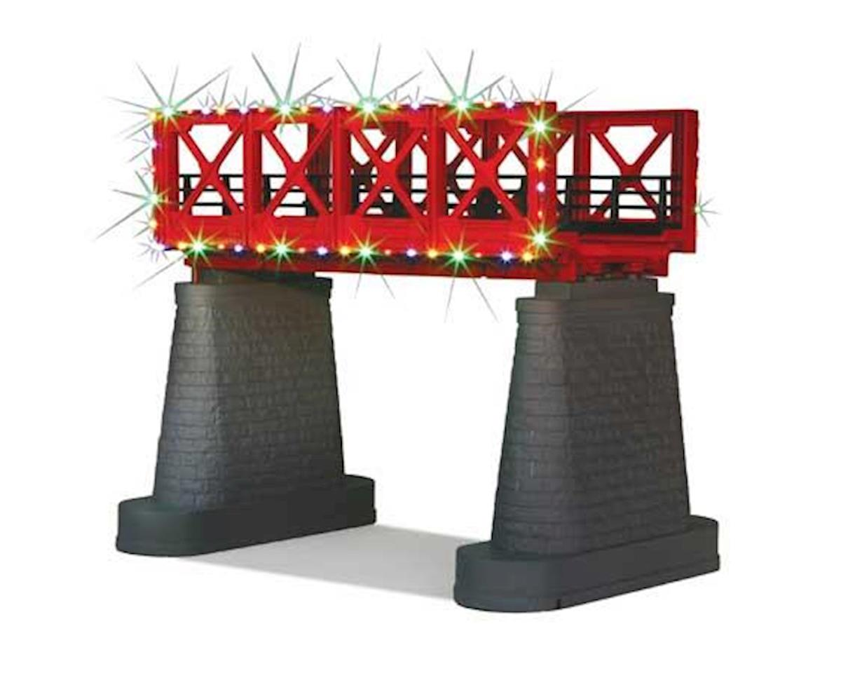 MTH Trains O Bridge Girder w/Operating Christmas Lights