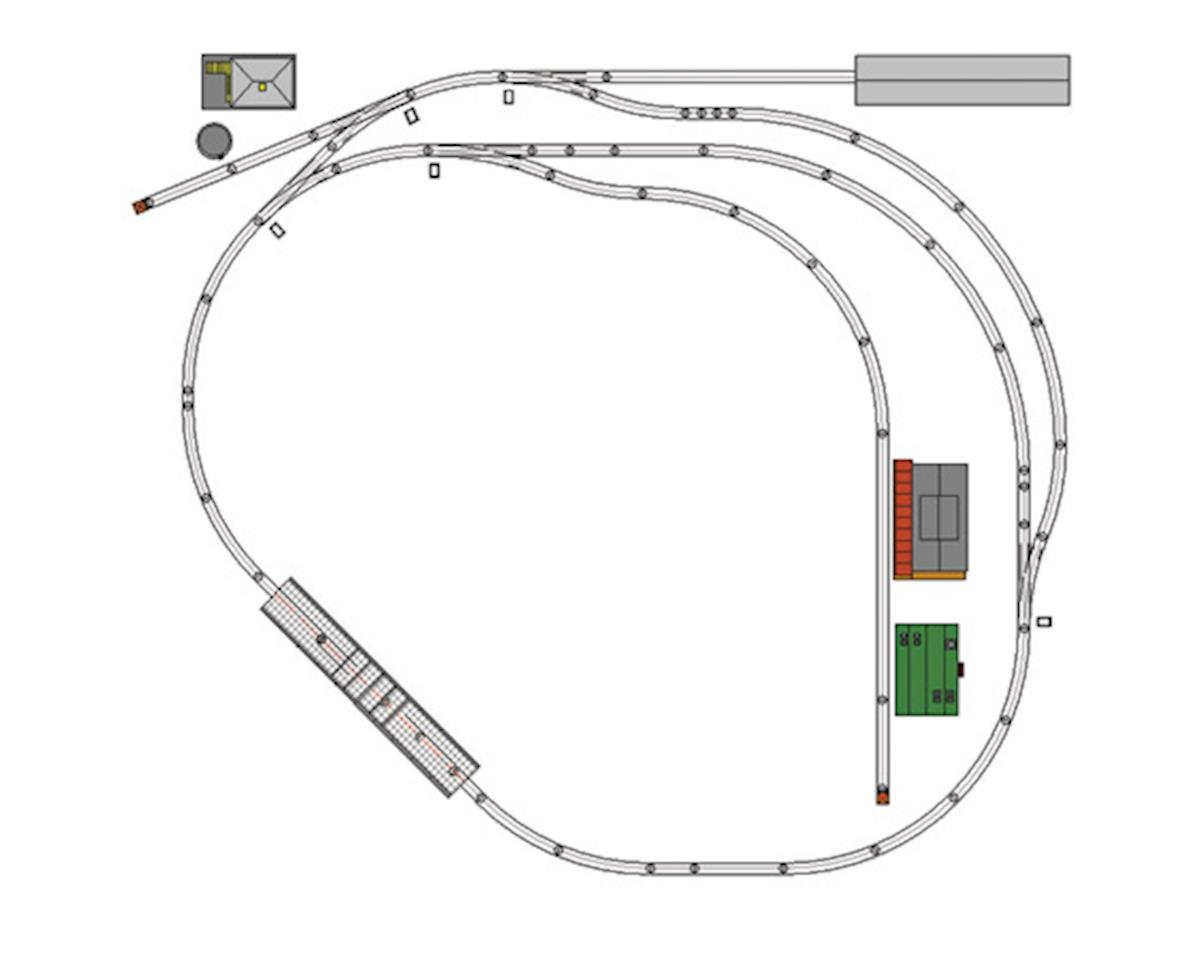 MTH Trains O ScaleTrax Layout Package 5, 8X9 (DS)