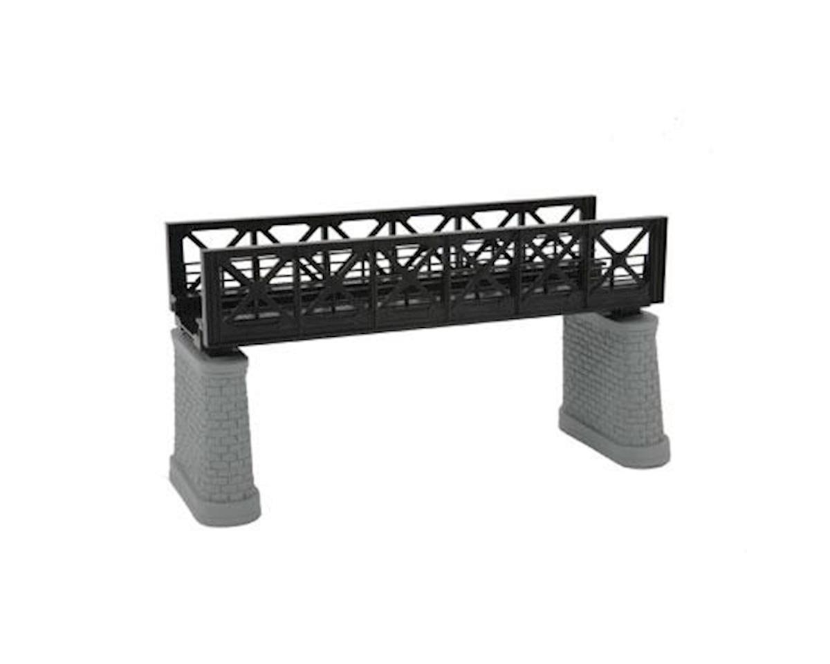 MTH Trains HO KIT Girder Bridge, Black