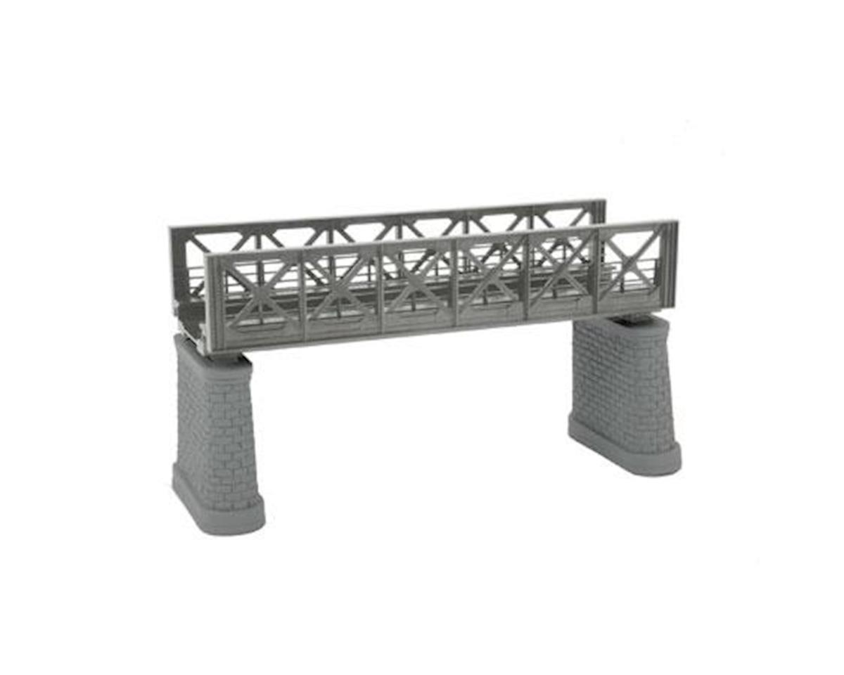 HO KIT Girder Bridge, Silver by MTH Trains