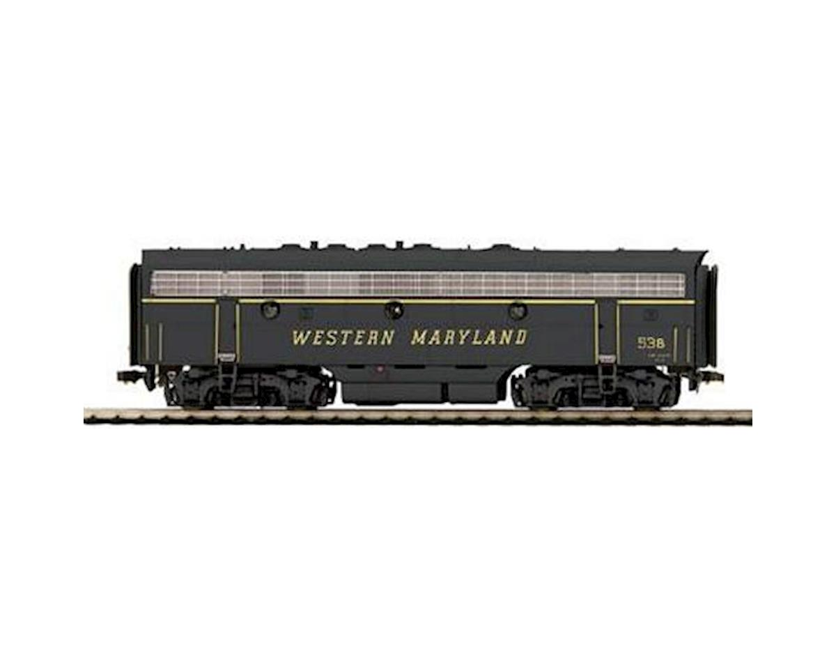 MTH Trains HO F7B w/NMRA Socket, WM #53B