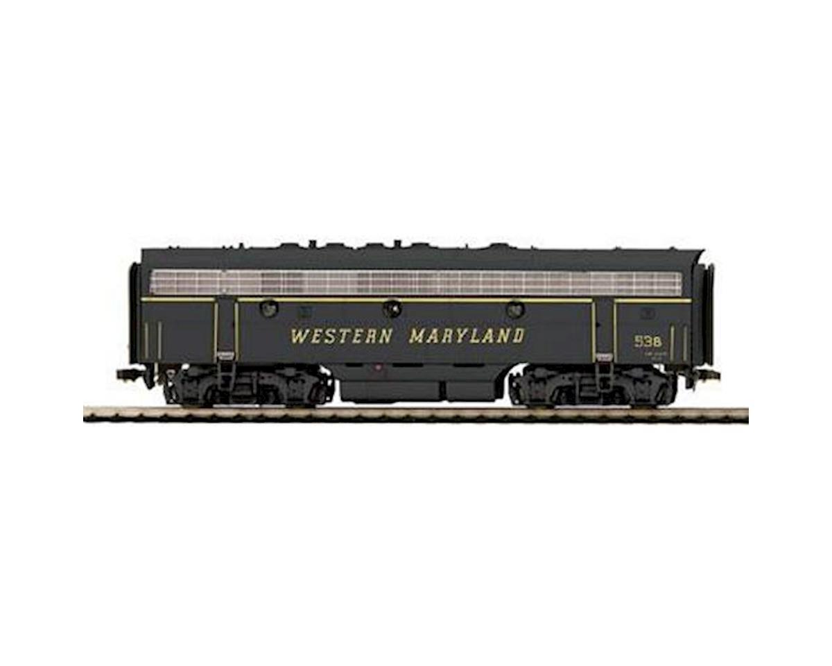 MTH Trains HO F7B w/PS3, WM #53B
