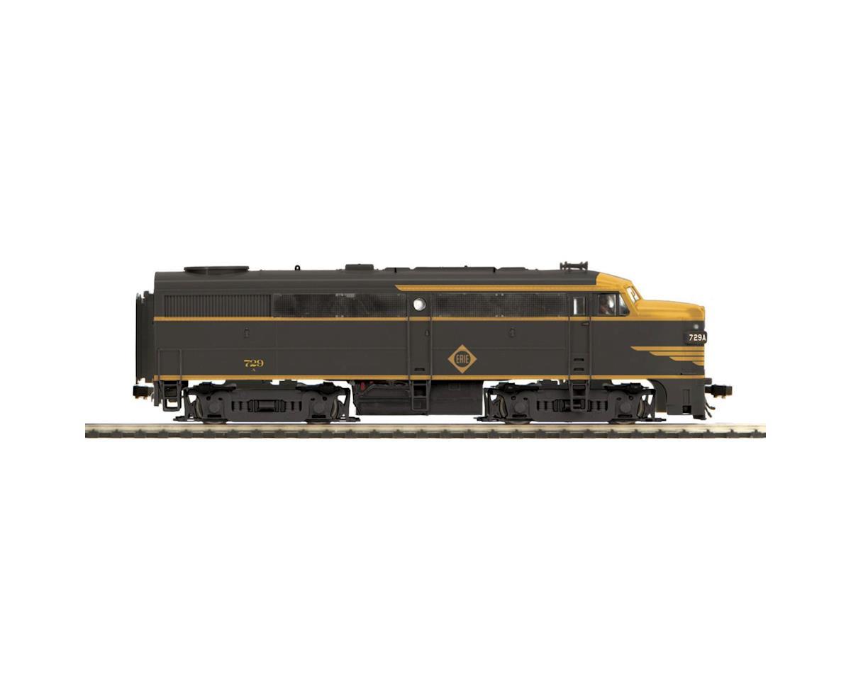 MTH Trains HO FA1 w/PS3, Erie #729A