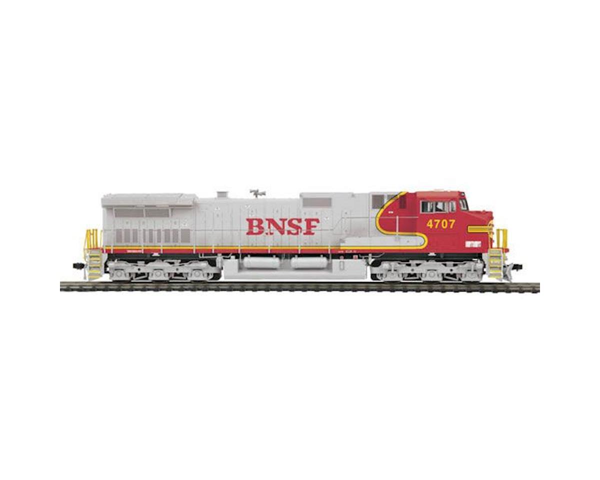 MTH Trains HO Dash-9 w/PS3, BNSF #4707
