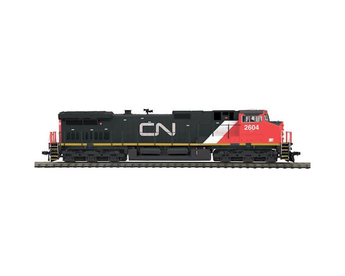 MTH Trains HO Dash-9 w/NMRA, CN #2604