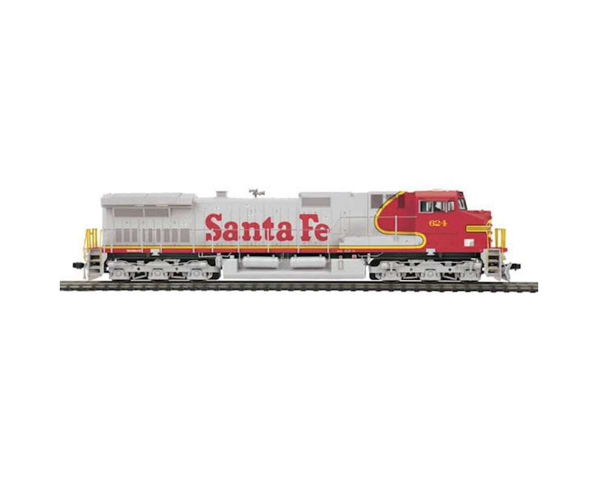 MTH Trains HO Dash-9 w/NMRA, SF #624