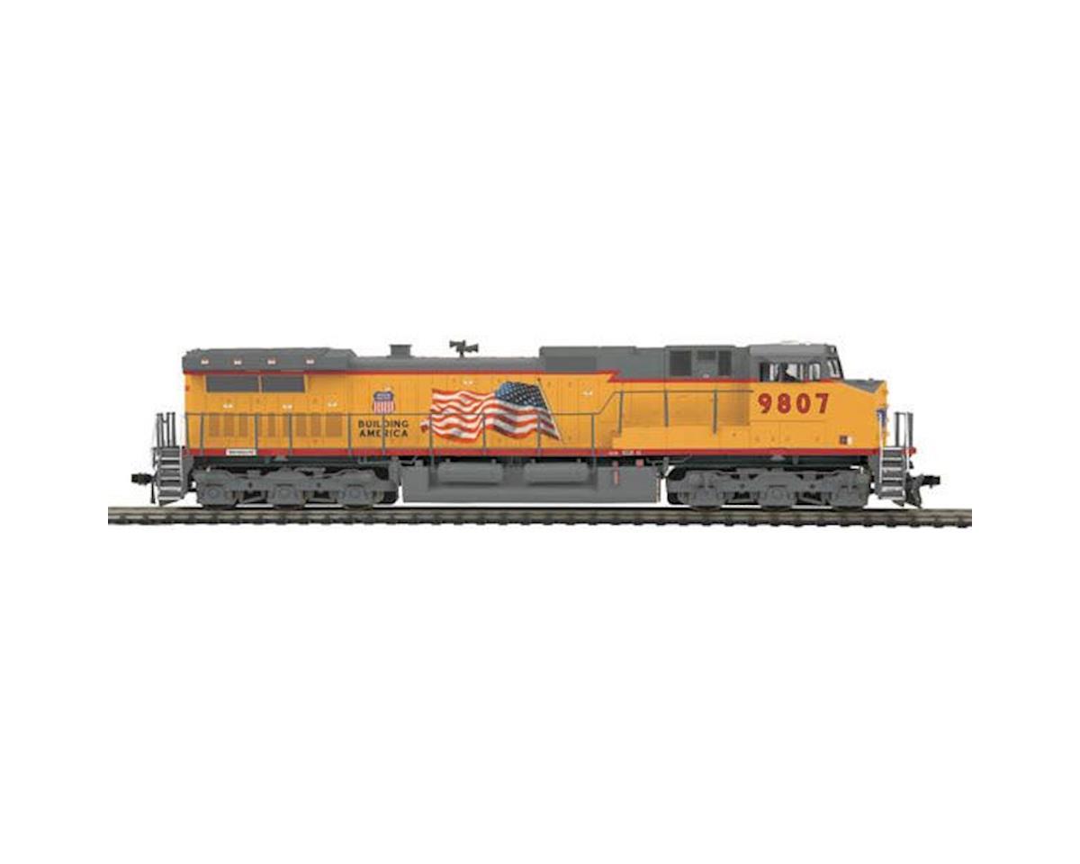 MTH Trains HO Dash-9 w/NMRA, UP #9807