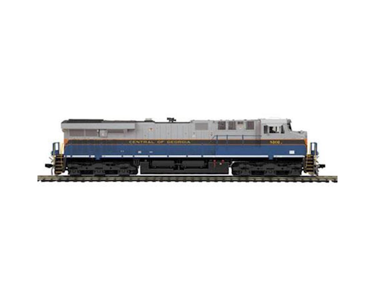 MTH Trains HO ES44AC w/NMRA, NS/CofG Heritage #8101