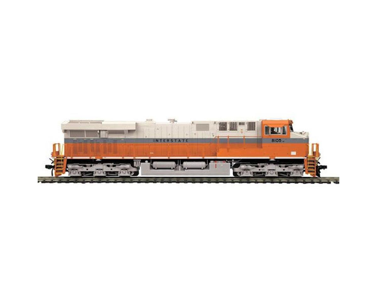 MTH Trains HO ES44AC w/NMRA, NS/Interstate Heritage #8105