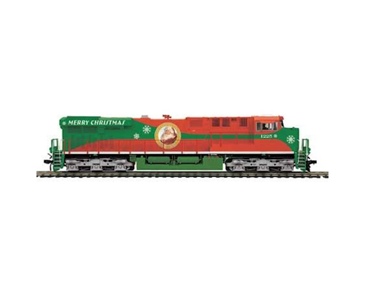 MTH Trains HO ES44AC w/PS3, Christmas #1225