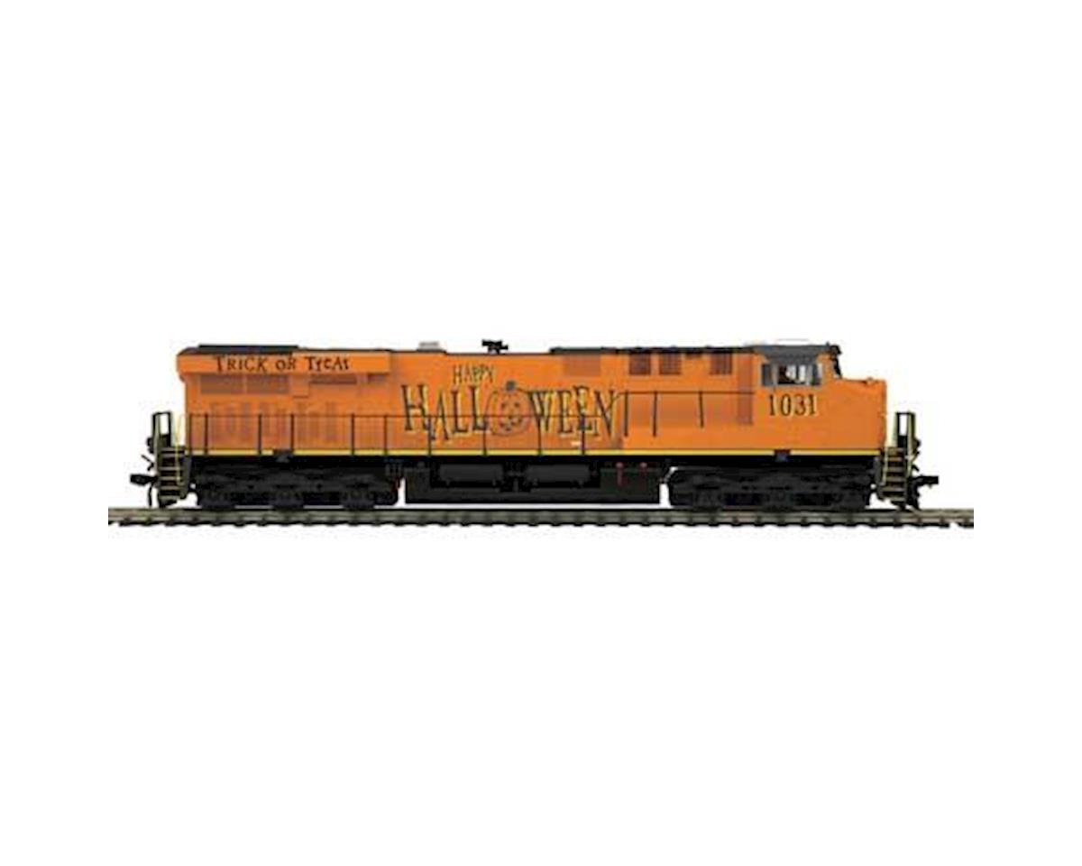 HO ES44AC w/PS3, Halloween #1031 by MTH Trains