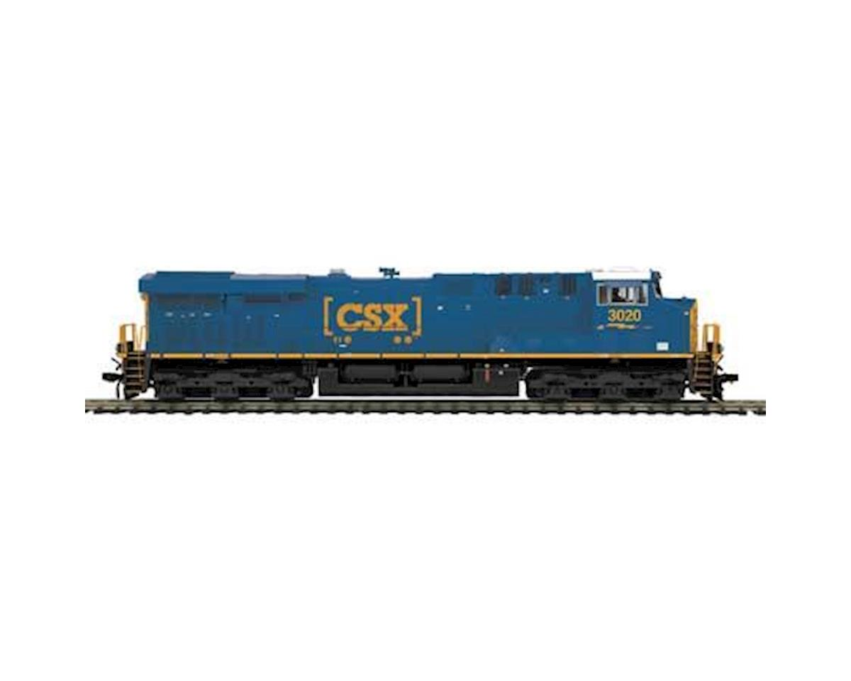 MTH Trains HO ES44AC w/PS3, CSX #3020