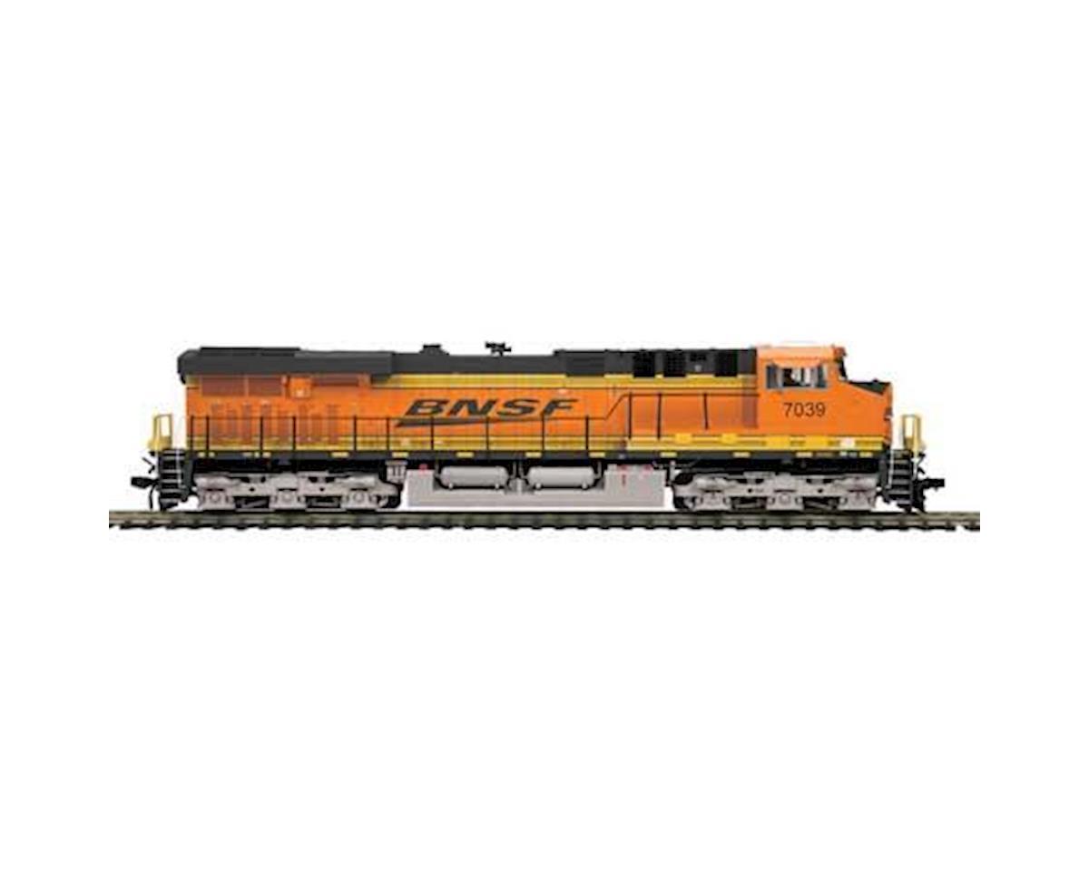 MTH Trains HO ES44AC w/PS3, BNSF #7039