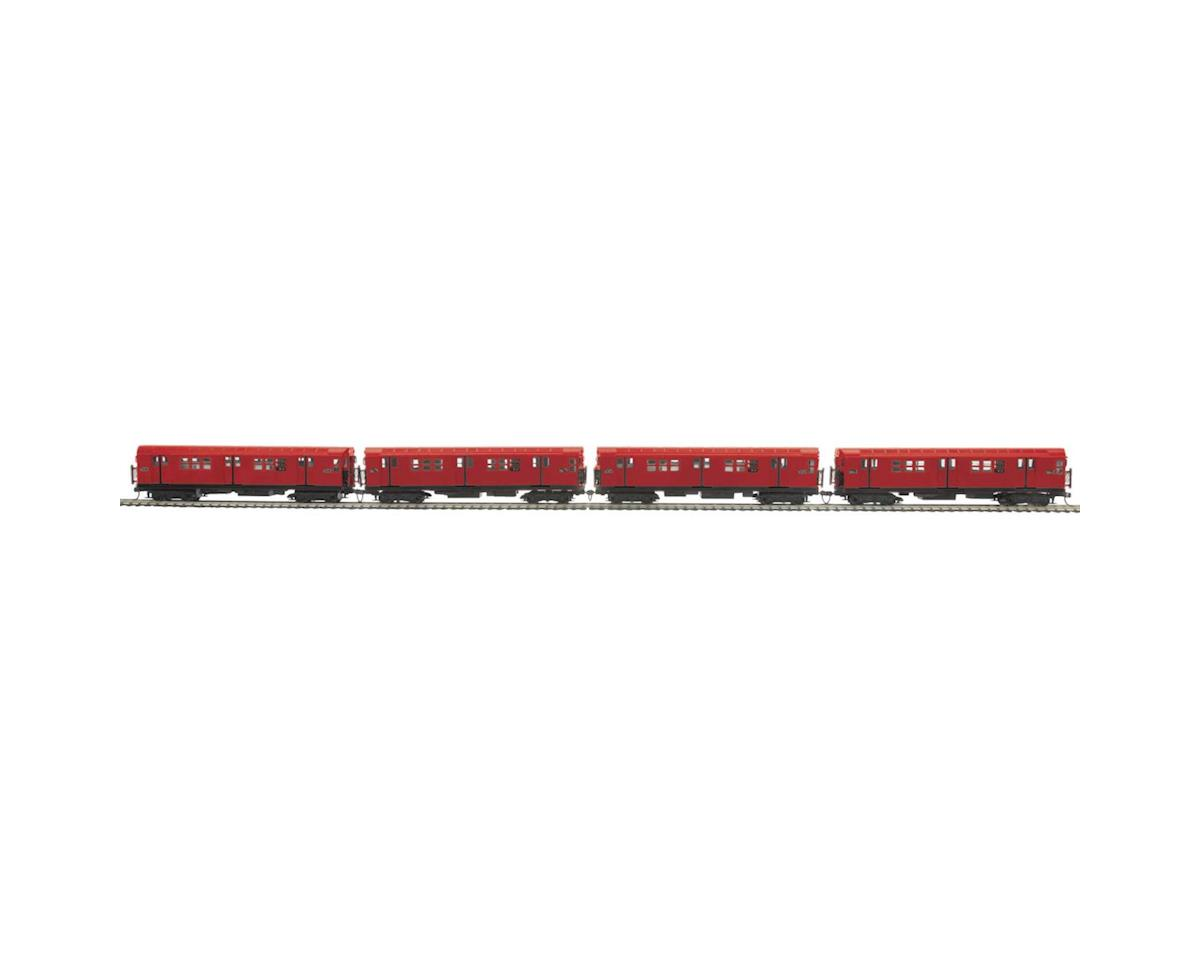 MTH Trains HO R-17 Subway w/NMRA, MTA #6643 (4)