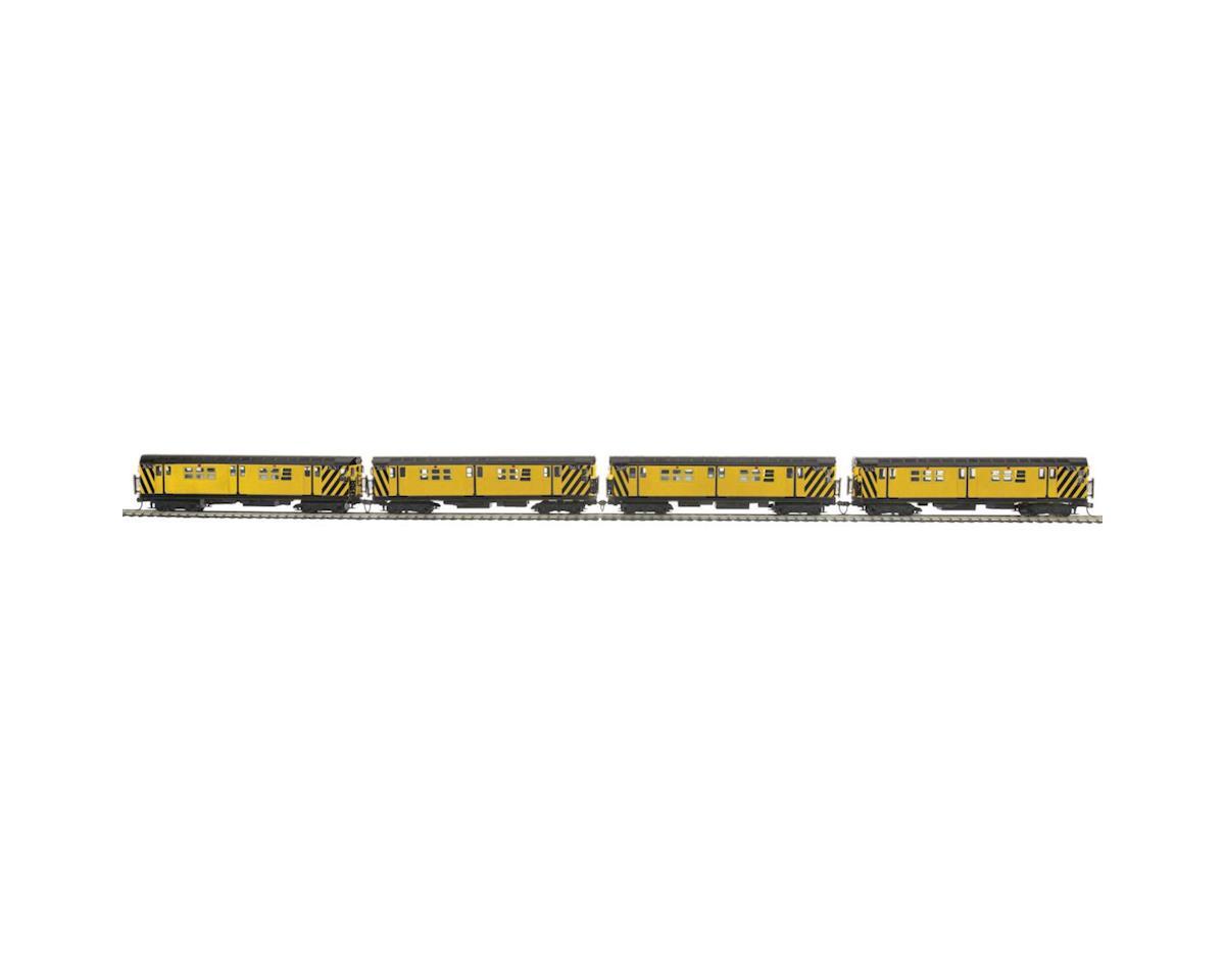 MTH Trains HO R-17 Subway w/NMRA, MTA #36740 (2)
