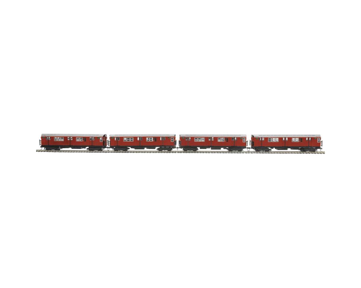MTH Trains HO R-21 Subway w/PS3, MTA #7053 (4)