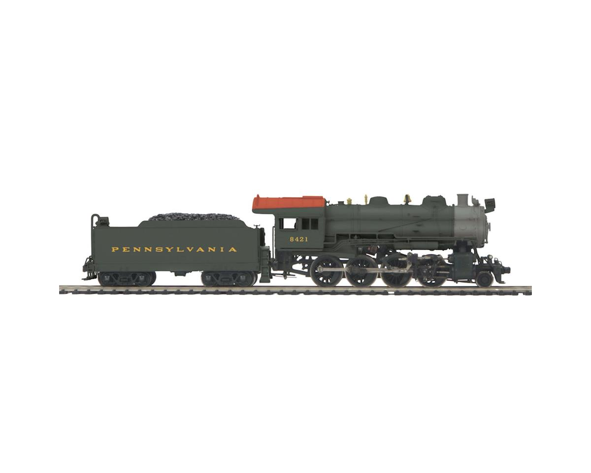 MTH Trains HO 2-8-0 H10 w/PS3, PRR #7107