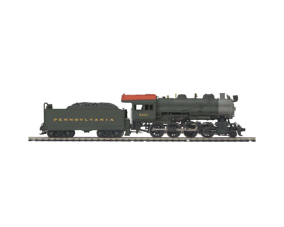 MTH Trains HO 2-8-0 H10 w/PS3, PRR #7107