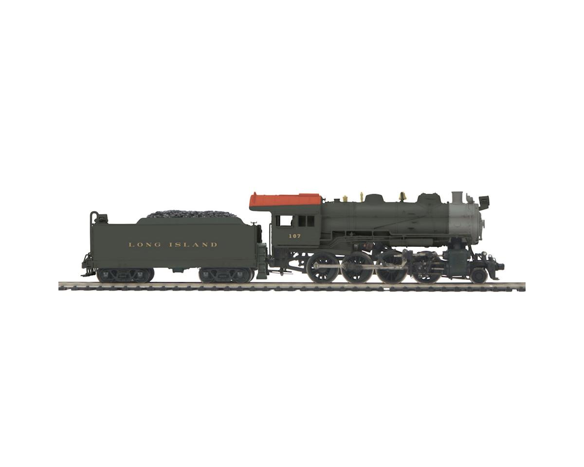 MTH Trains HO 2-8-0 H10 w/PS3, LIRR #107
