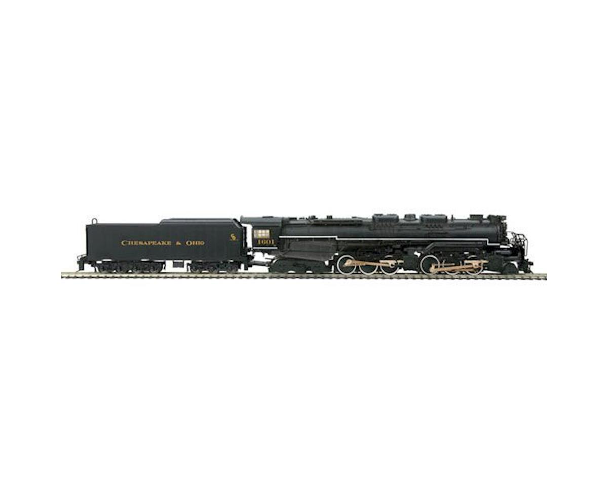 MTH Trains HO 2-6-6-6 Allegheny w/PS3, C&O #1601