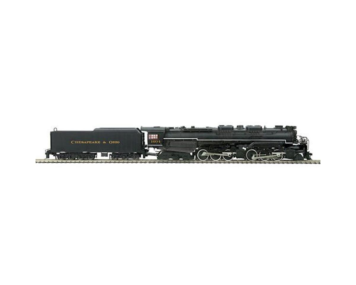 MTH Trains HO 2-6-6-6 Allegheny w/PS3, C&O #1604
