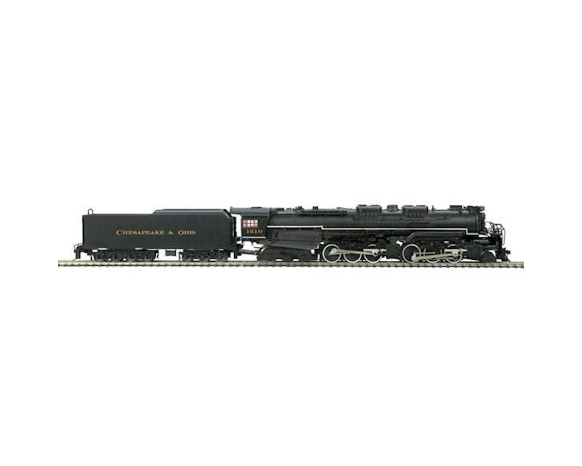 MTH Trains HO 2-6-6-6 Allegheny w/PS3, C&O #1610