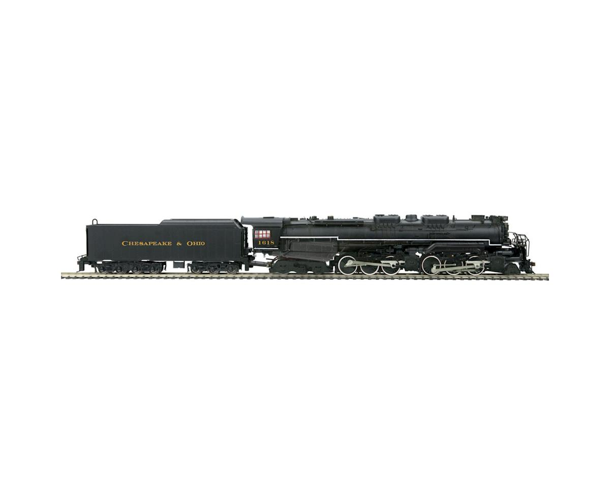 MTH Trains HO 2-6-6-6 Allegheny w/PS3, C&O #1618