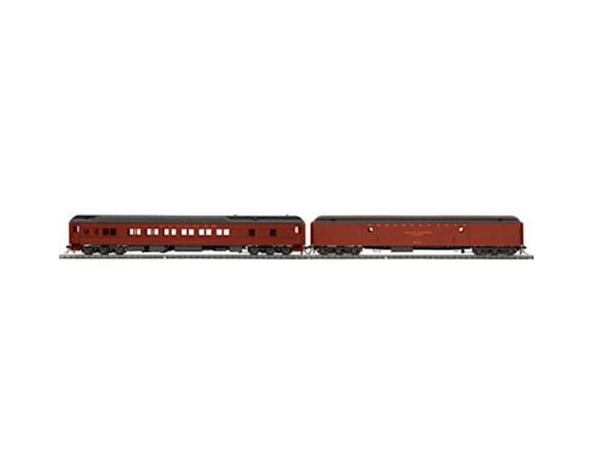 MTH Trains HO Heavyweight Baggage/Sleeper, PRR