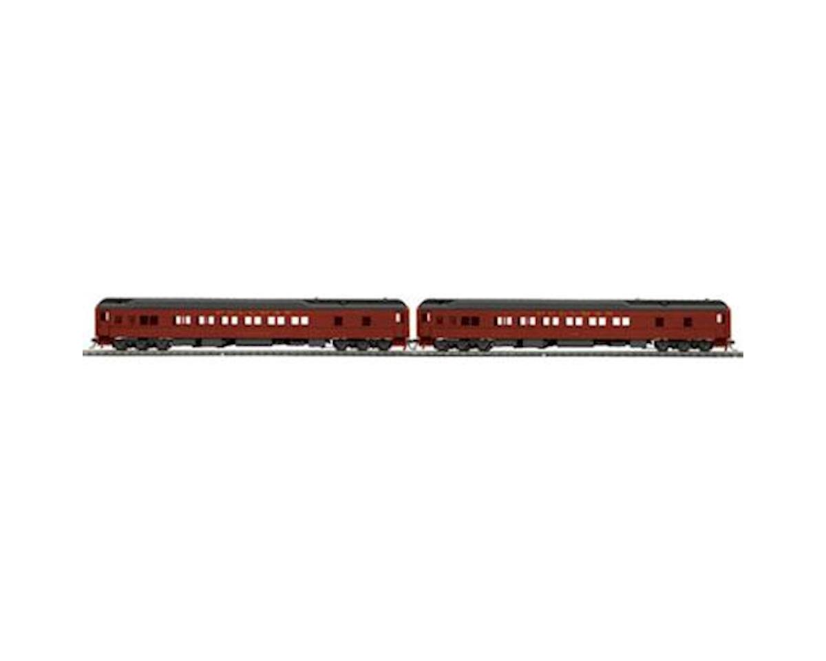 MTH Trains HO Heavyweight Sleeper, PRR (2)