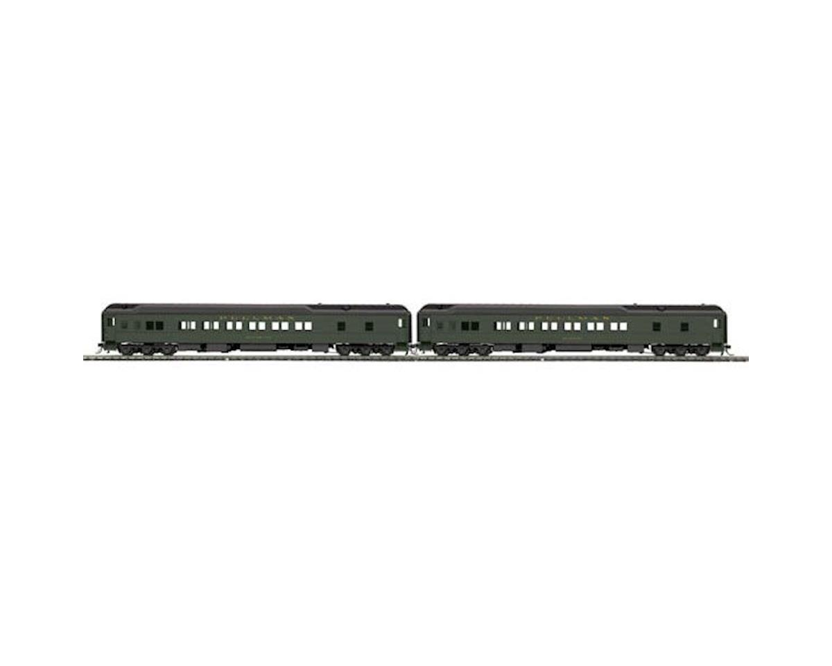 MTH Trains HO Heavyweight Baggage/Sleeper, PULMN