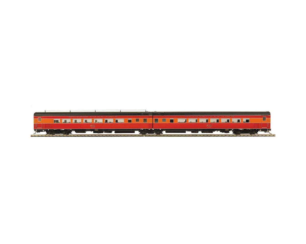 MTH Trains HO Articulated Chair Car Set, SP Lines #1 (3)