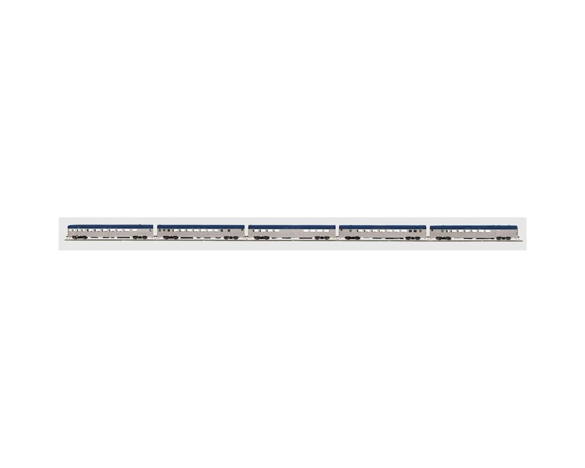 MTH Trains HO Ribbed Passenger Set, NKP (5)