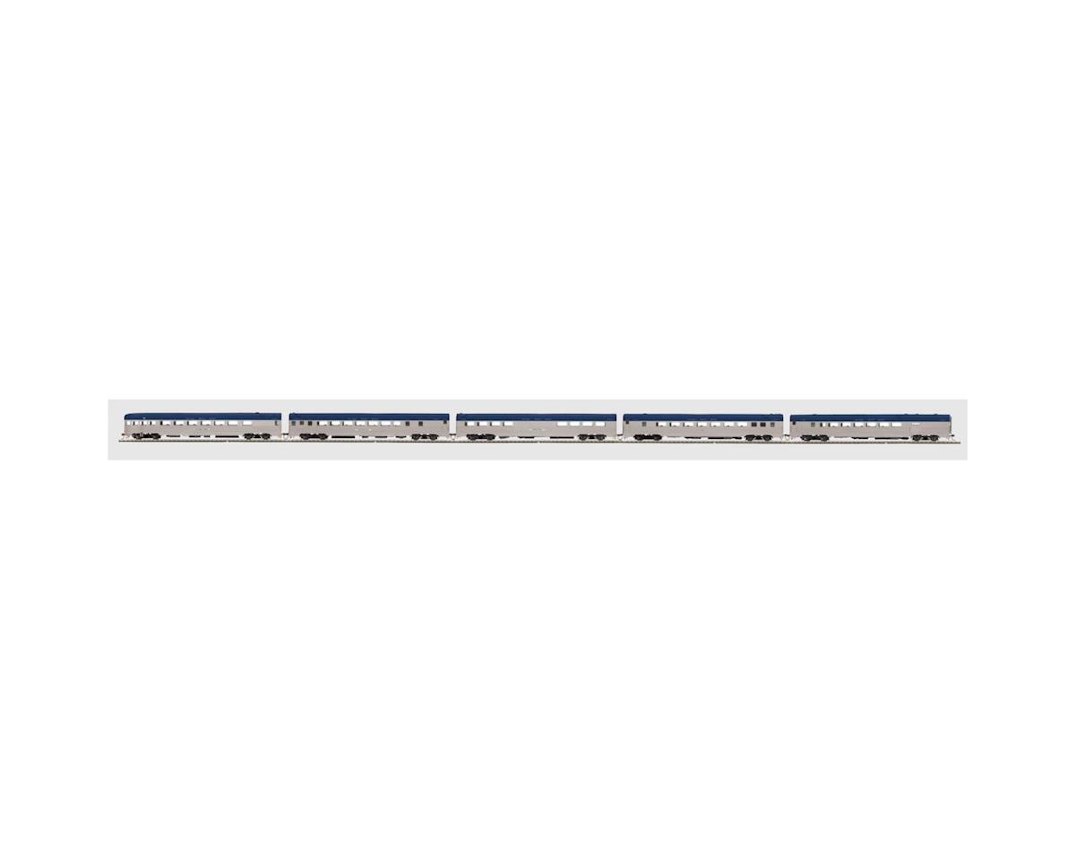 MTH Trains HO Ribbed Passenger Set, NKP (5)