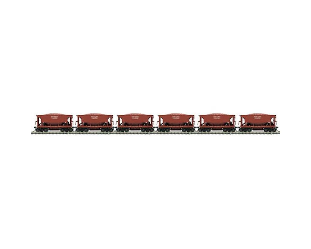 MTH Trains HO 70-Ton High Side Ore Car, SOO #2 (6)