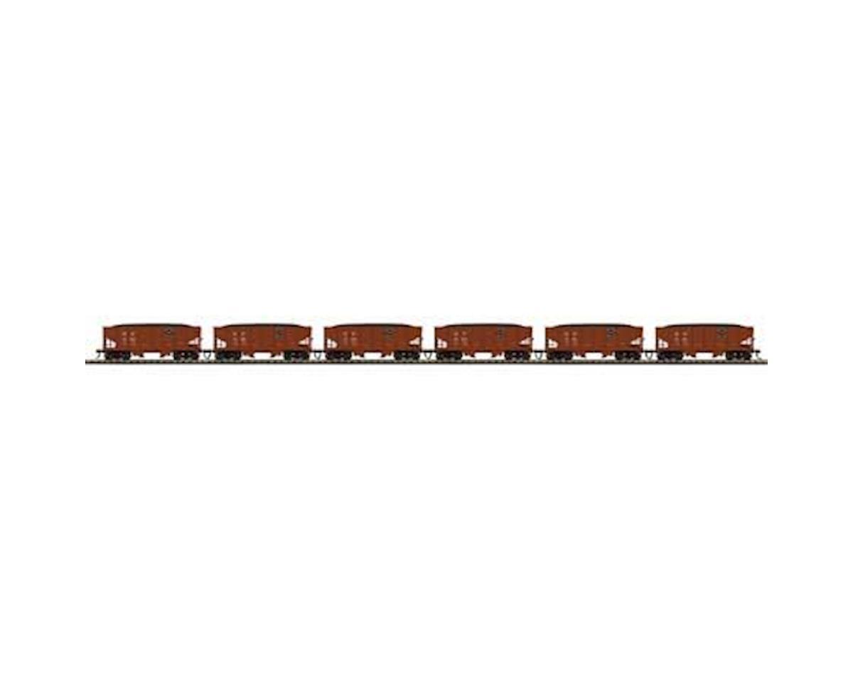 MTH Trains HO USRA 55-Ton Steel Twin Hopper, SP #2 (6)