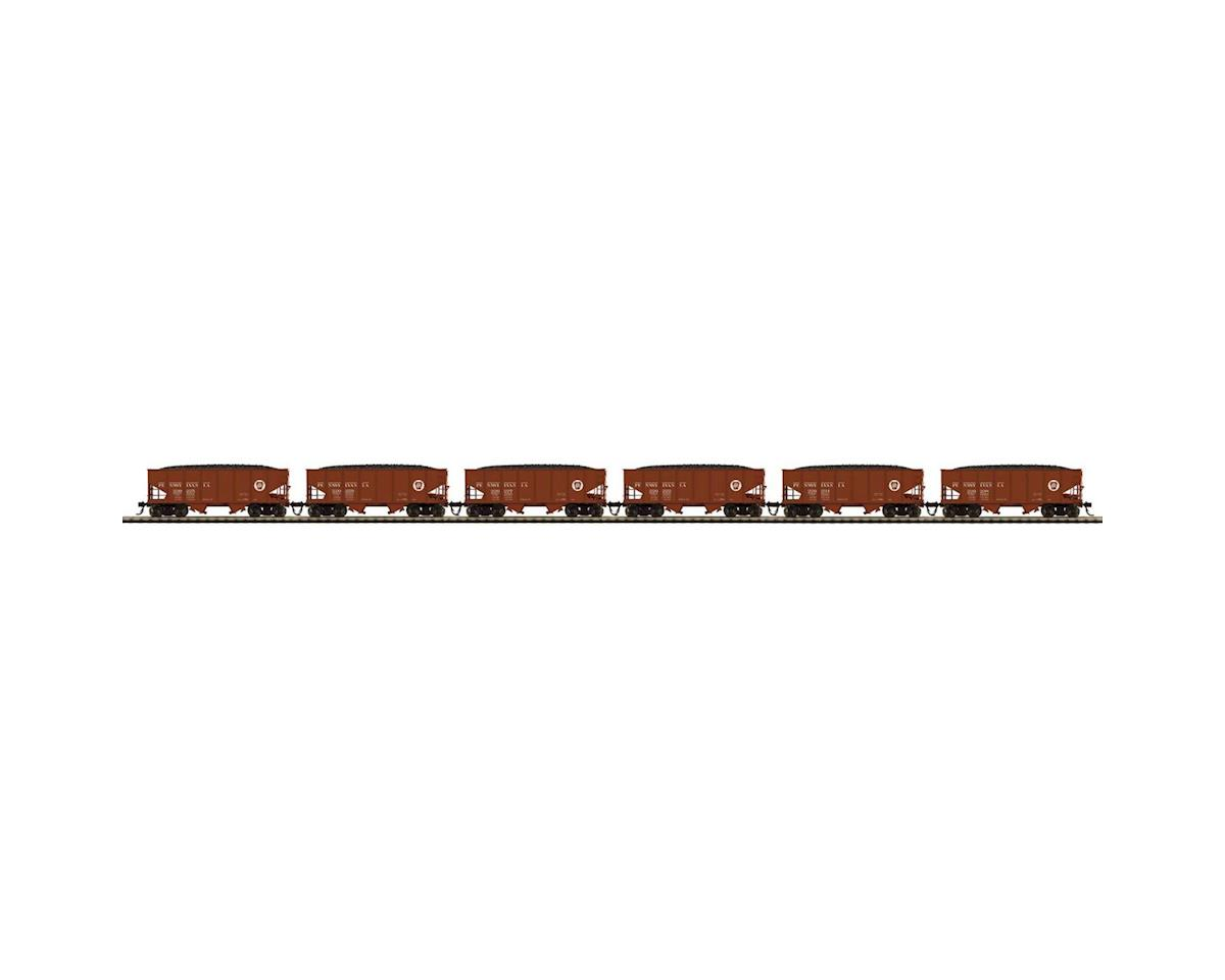 HO USRA 55-Ton Steel Twin Hopper, PRR #1 (6) by MTH Trains