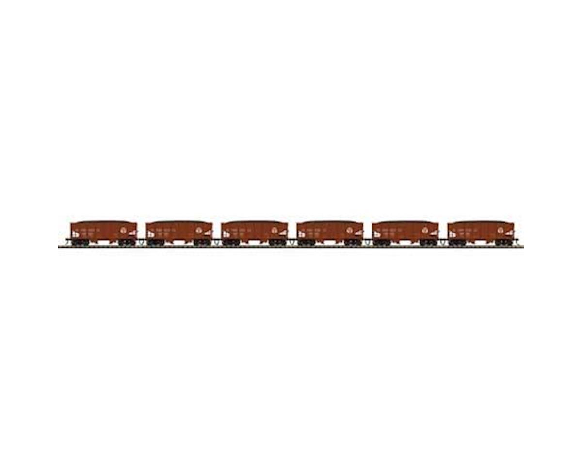 MTH Trains HO USRA 55-Ton Steel Twin Hopper, PRR #2 (6)