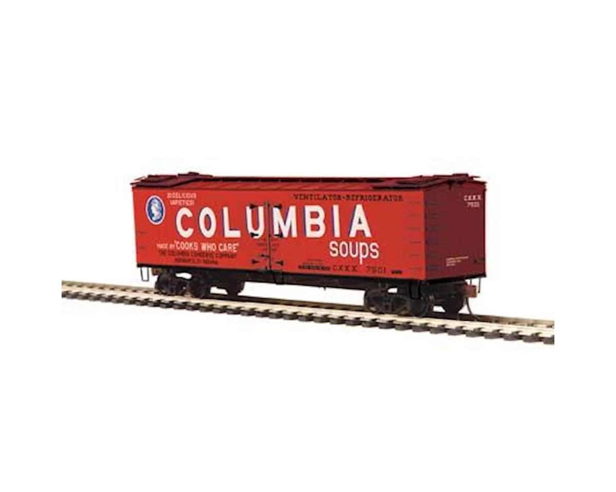 MTH Trains HO R40-2 Wood Reefer, Columbia Soups #7501