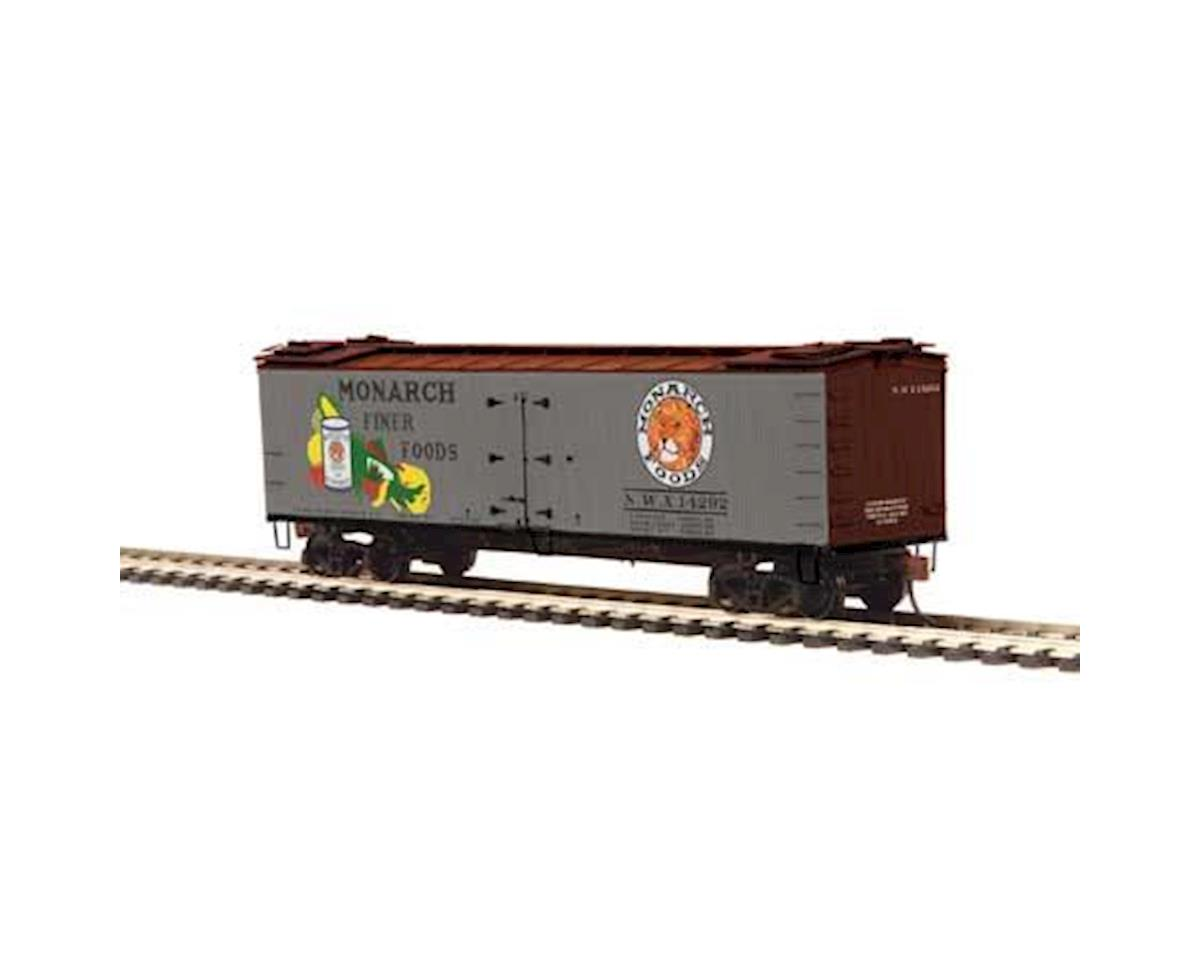 MTH Trains HO R40-2 Wood Reefer, Monarch #14292
