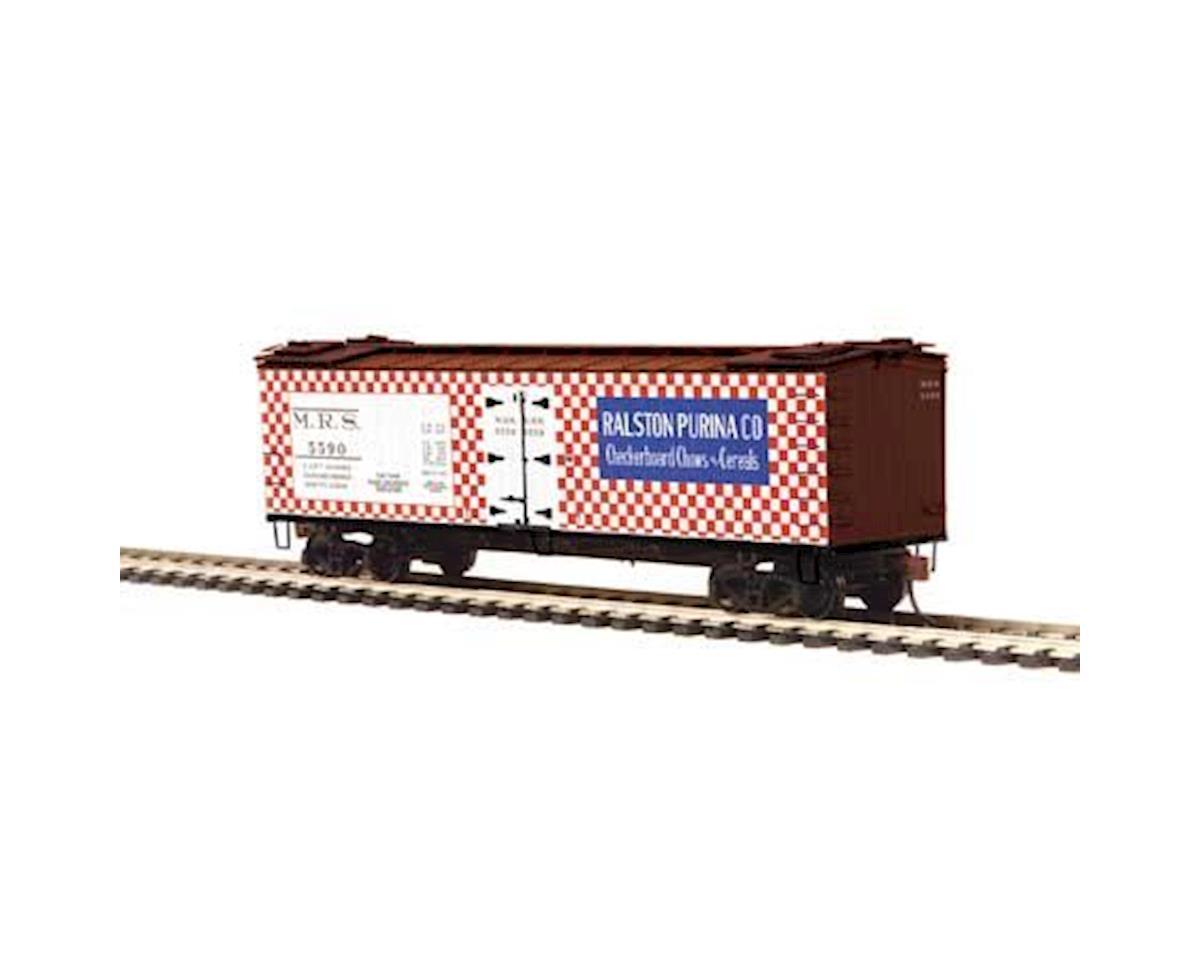MTH Trains HO R40-2 Wood Reefer, Ralston Purina #5590