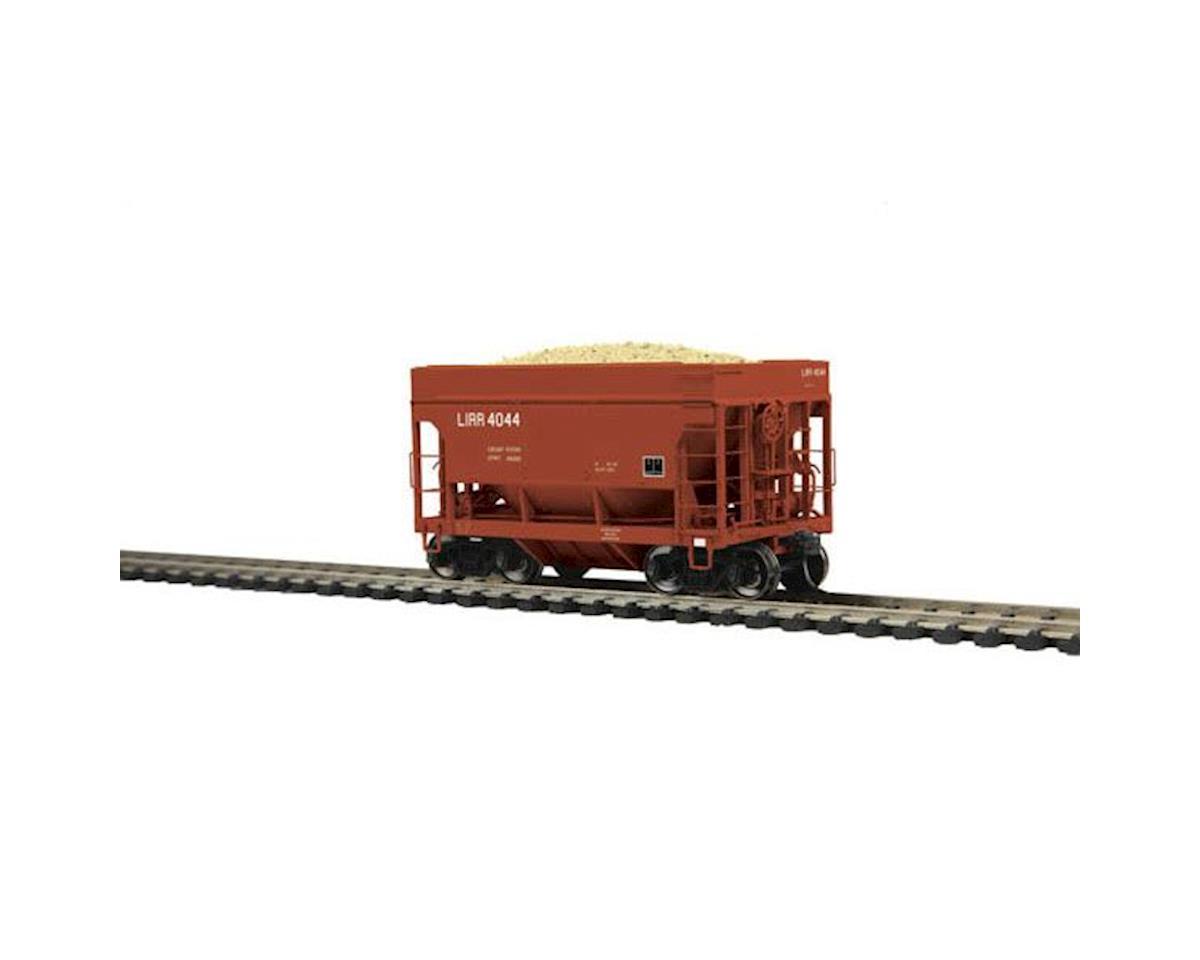 MTH Trains HO 70-Ton High Side Ore Car, LIRR #4044