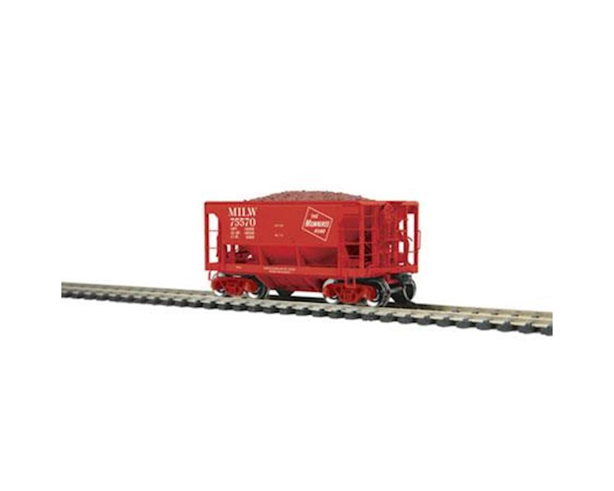 MTH Trains HO 70-Ton Ore Car, MILW #75570