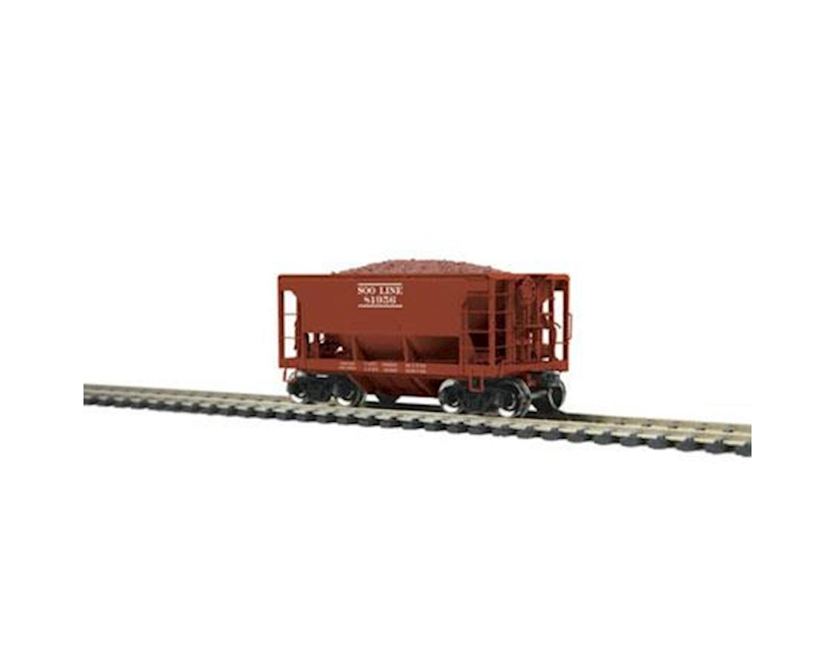 MTH Trains HO 70-Ton Ore Car, SOO #81956