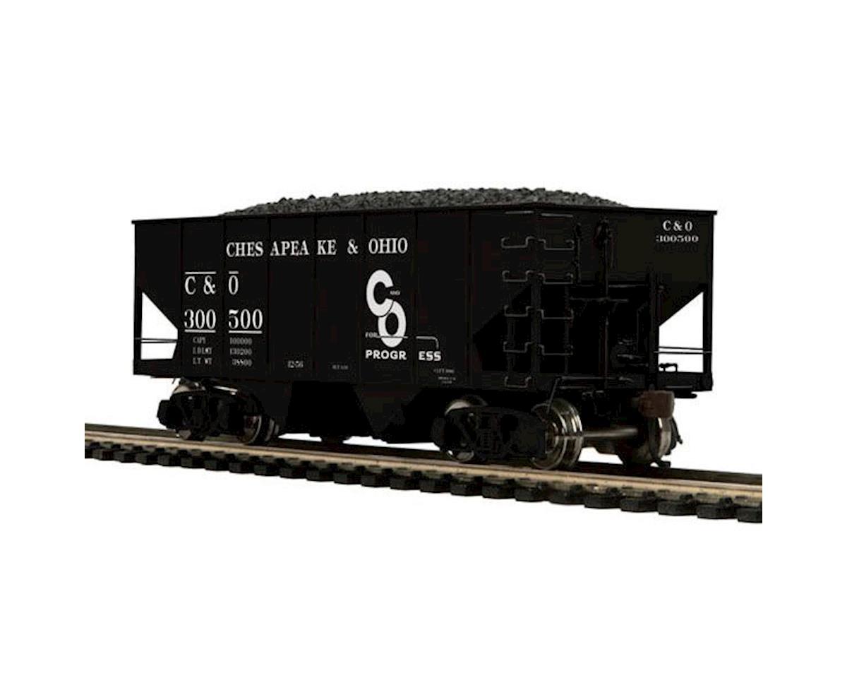 MTH Trains HO 55-Ton Twin Hopper, C&O #300500